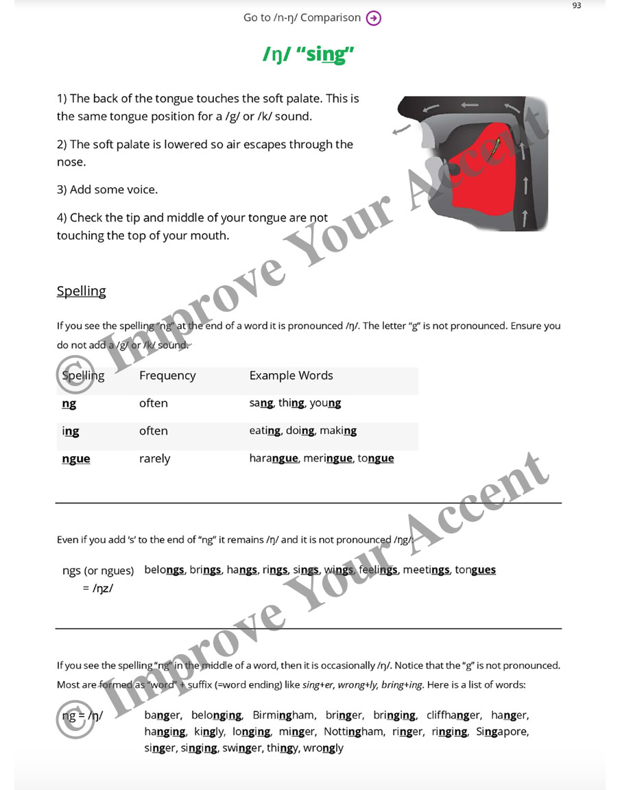 for each sound in english the worksheets have a clear description and ...