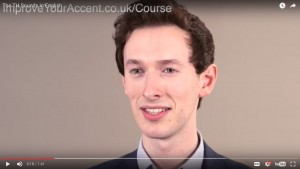 pronunciation video from course