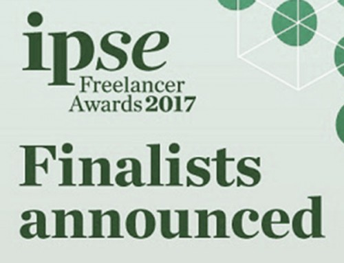Finalist for UK Freelancer of the Year