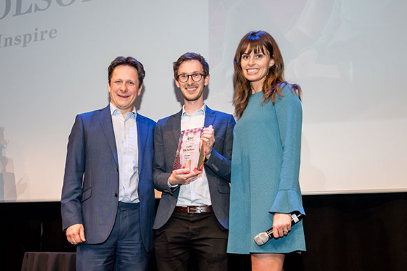winning IPSE Freelancer of the Year award