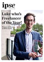 UK Freelancer of the Year IPSE magazine cover