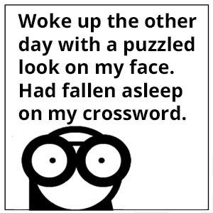 crossword puzzled
