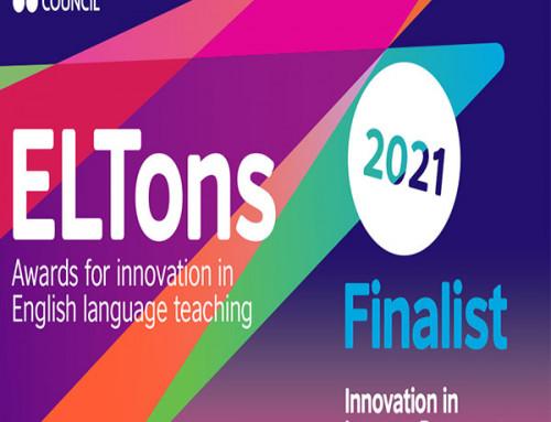 Finalist at British Council ELTons Awards